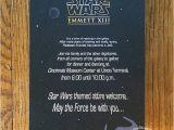 Star Wars themed Birthday Party Invitations Margotmadison Star Wars themed Bar Mitzvah