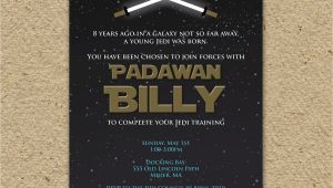 Star Wars themed Birthday Party Invitations Star Wars Birthday Party Invitation Star Wars by