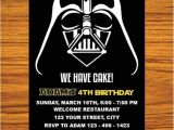 Star Wars themed Birthday Party Invitations Star Wars Invitation Star Wars Party Invitation Star Wars