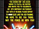 Star Wars themed Party Invitations Amanda 39 S Parties to Go Star Wars Party Details