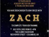 Star Wars themed Party Invitations Star Wars Birthday Party Ideas Invitations Activities