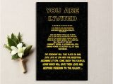 Star Wars Wedding Invitations 50 Best Star Wars Wedding Ideas Of All Time Emmaline Bride