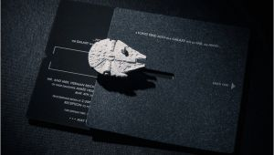 Star Wars Wedding Invitations Star Wars Wedding Invitation Trumps All Other Invitations