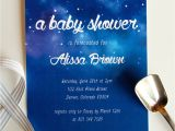 Starry Night Baby Shower Invitations Starry Night Baby Shower