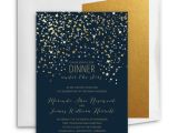 Starry Night Party Invitations Personalized Starry Night Party Invitation Card Einvite Com