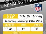Steelers Party Invitations Nfl Pittsburgh Steeler S Birthday Invitation Kustom