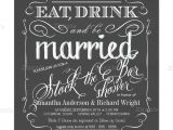 Stock the Bar Party Invitation Wording Stock the Bar Wedding Shower Invitations