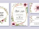 Stock Vector – Wedding Invitation Template 14 Wedding Invitation Save the Date Thank You Rsvp Card
