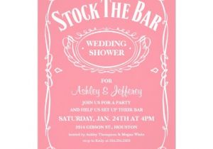 Stock Your Bar Party Invitations Stock the Bar Party Invitations 5 Quot X 7 Quot Invitation Card