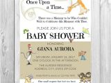 Storybook Baby Shower Invites Storybook Baby Shower Invitation Baby Shower by