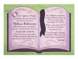 "Storybook Baby Shower Invites Storybook Baby Shower Invitations 5"" X 7"" Invitation Card"