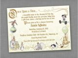 Storybook Baby Shower Invites Storybook Baby Shower Invitations Party Xyz