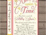 Storybook Baby Shower Invites Storybook themed Baby Shower Invitations