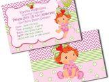 Strawberry Shortcake Baby Shower Invitations Baby Shower Strawberry Shortcake Invitations by Metro