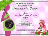 Strawberry Shortcake Baby Shower Invitations the Strawberry Shortcake Invitation I Designed for My