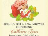 Strawberry Shortcake Baby Shower Invitations Vintage Strawberry Shortcake Birthday Invitation or by