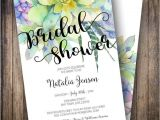 Succulent themed Bridal Shower Invitations Best 25 Teal Bridal Showers Ideas On Pinterest
