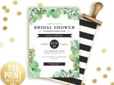 Succulent themed Bridal Shower Invitations Succulent Bridal Shower Ideas Bridal Shower Ideas themes