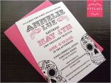 Sugar Skull Baby Shower Invitations Sugar Skull Baby Shower Invitations Metallic by Citlali