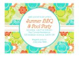Summer Party Invitation Wording Tips Easy to Create Summer Party Invitations Free