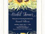 Sunflower Bridal Shower Invitation Templates Sunflower Bridal Shower Invitation Sunflowers Bridal