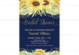 Sunflower Bridal Shower Invitation Templates Sunflower Bridal Shower Invitation Sunflowers Bridal Shower