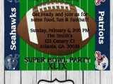 Super Bowl Party Invitation Wording Super Bowl Xlix Party Invitation by Klppartydesigns On Etsy