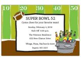 Super Bowl Party Invitation Wording Tailgate Party Superbowl Football Invitations Paperstyle