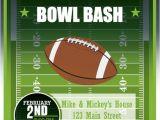 Super Bowl Party Invitations Free Printable Super Bowl Bash Invitation Football Party Invitation