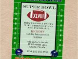 Super Bowl Party Invitations Free Printable Super Bowl Xlviii Party Seahawks Vs Broncos Invitation