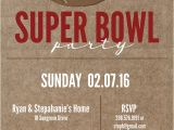 Super Bowl Party Invite Super Bowl Printable and Invitation Free Printable
