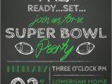Super Bowl Party Invite Super Bowl Super Stars Food Comfort Style Hooker