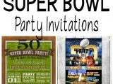Super Bowl Party Invites Football Party Invitation Template