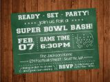 Super Bowl Party Invites Super Bowl Party Invitation Printable