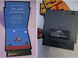Super Mario Wedding Invitations 27 Best Images About Geek Chic Wedding Invitations On