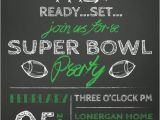 Superbowl Party Invitations Sale Super Bowl Party Invitation