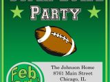 Superbowl Party Invitations Super Bowl Party Invitations 2018 Football