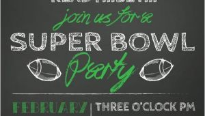 Superbowl Party Invite Sale Super Bowl Party Invitation