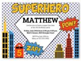 Superhero Birthday Invitations Templates Free 30 Superhero Birthday Invitation Templates Psd Ai