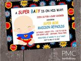 Superman Baby Shower Invitation Template Collection Superman Baby Shower Invitations which Viral