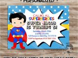 Superman Baby Shower Invitation Template Superman Birthday Party Invitations Printable