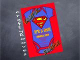Superman Baby Shower Invitation Template Superman Invitations for Boys