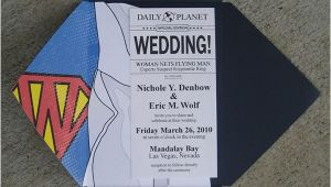 Superman Wedding Invitations Superman Wedding On Behance