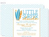Surfer Baby Shower Invitations Swanky Press