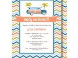 Surfer Boy Baby Shower Invitations Surfer Baby Shower Invitations