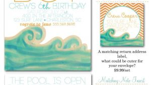 Surfer Boy Baby Shower Invitations Surfer Boy Surf Party Invites Surfs Up Surfer