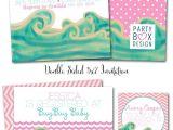 Surfer Girl Baby Shower Invitations Best 25 Surfer Baby Ideas On Pinterest