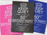 Surprise 50th Anniversary Party Invitations Items Similar to Surprise 50th Birthday Party Invitation
