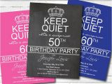 Surprise 50th Birthday Invites Items Similar to Surprise 50th Birthday Party Invitation