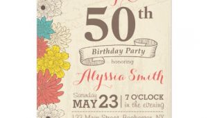 Surprise 50th Birthday Invites Surprise 50th Birthday Invitation Zazzle Com